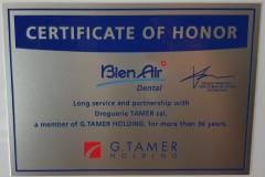 Certificat-honneur